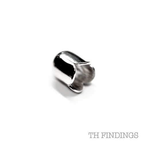 Sterling Silver 4mm End Cap
