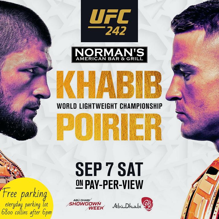 Live in Norman's Tavern 🏆 KHABIB 🥊VS🥊 POIRIER