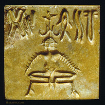 yogic-seal Indus Valley Civilisation