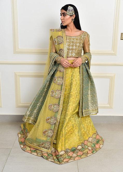 Marigold Blush - Sadaf Fawad Khan