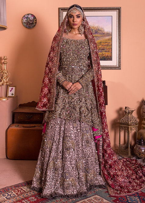 Bridal Lehnga - Mohsin Naveed Ranjha