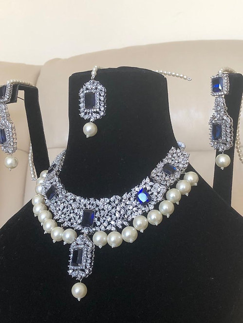 Handmade Silver Plated Set - Moons Couture