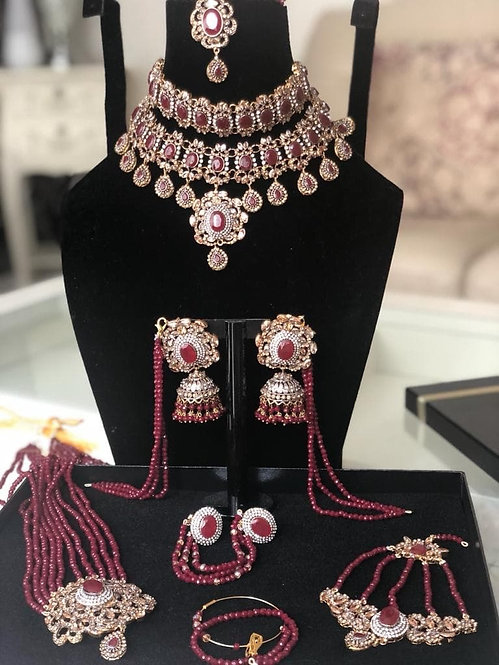 Haneen Bridal Set - Moons Couture
