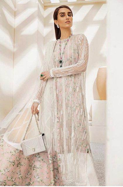 Suffuse By Sana Yasir - Blush White