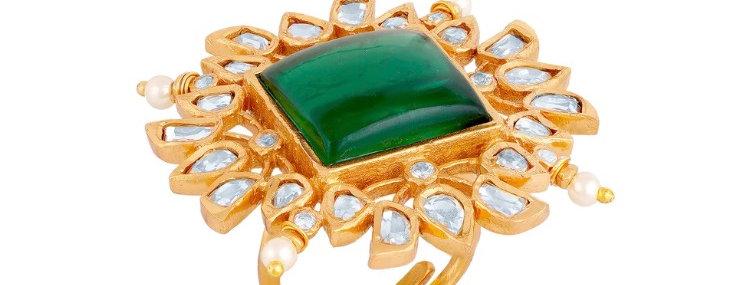 Alessia Kundan Ring
