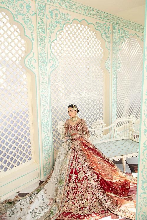 Scarlet - Suffuse By Sana Yasir