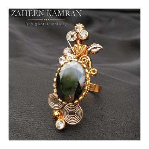 Agate Handmade Ring