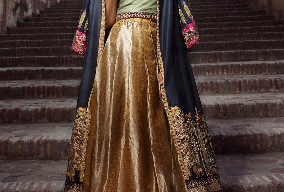 Black Shikargah Jacket - Shiza Hassan