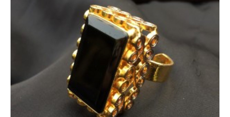 Agate Egyptian Ring