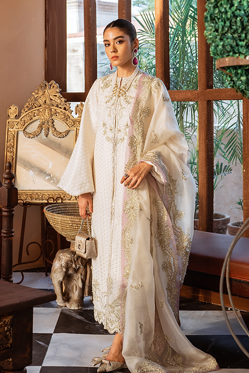 Dainty Ivory - Suffuse By Sana Yasir