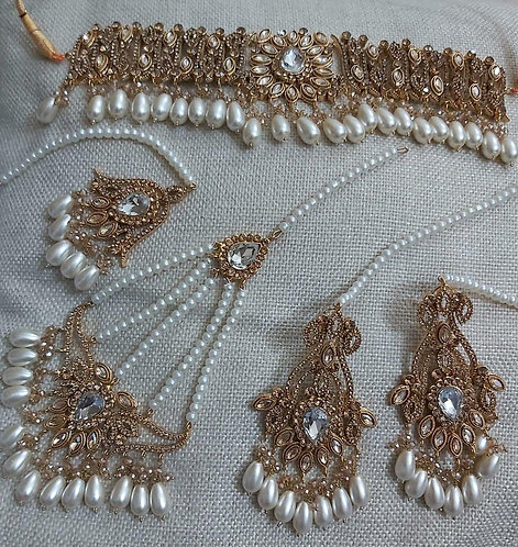 22K Gold Plated Set - Moons Couture