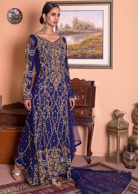 Blue Heavy Formal - Mohsin Naveed Ranjha