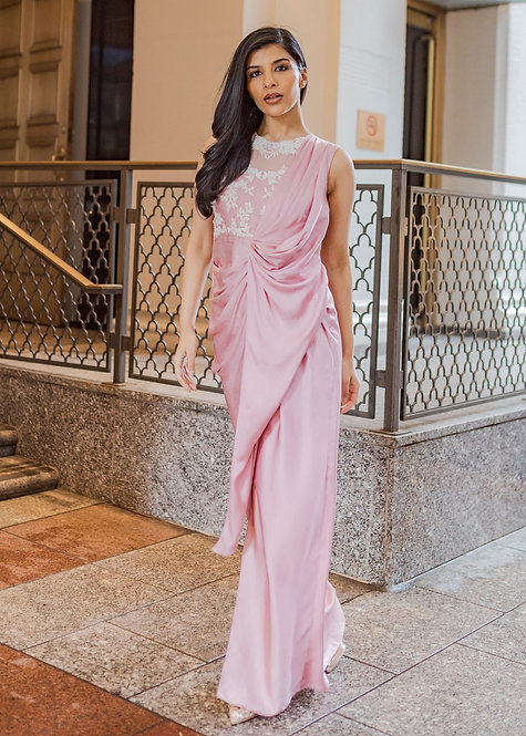 Pure Silk Drape - Zainab Salman