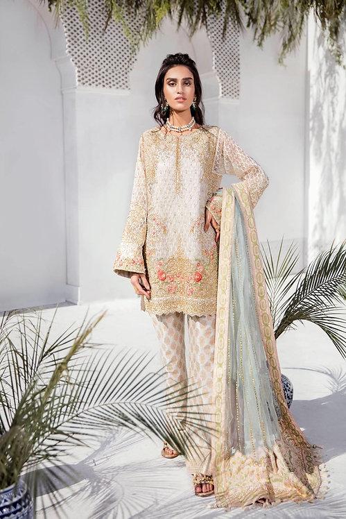 Off White Kurta - Suffuse By Sana Yasir