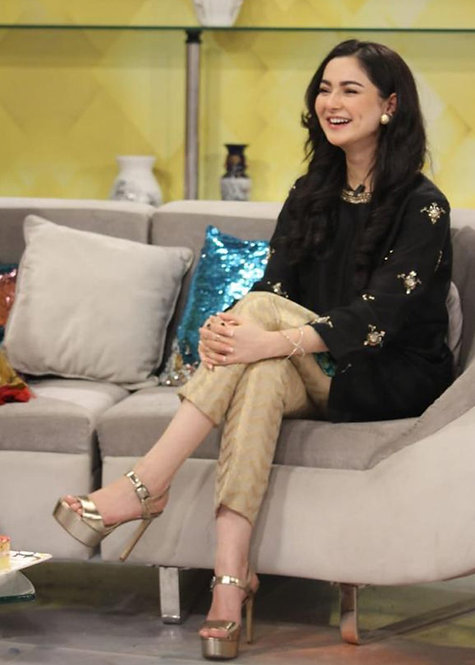 Hania Amir Kurta - Sadaf Fawad Khan