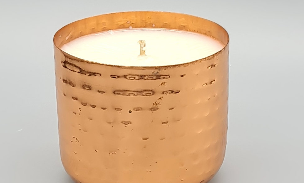 Iset Luxury Polished Copper Candle in Presentation Box 220g