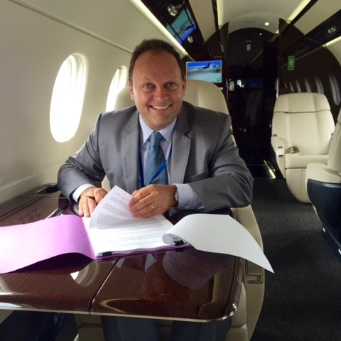 S.Ledermann buying 1st Embraer 450