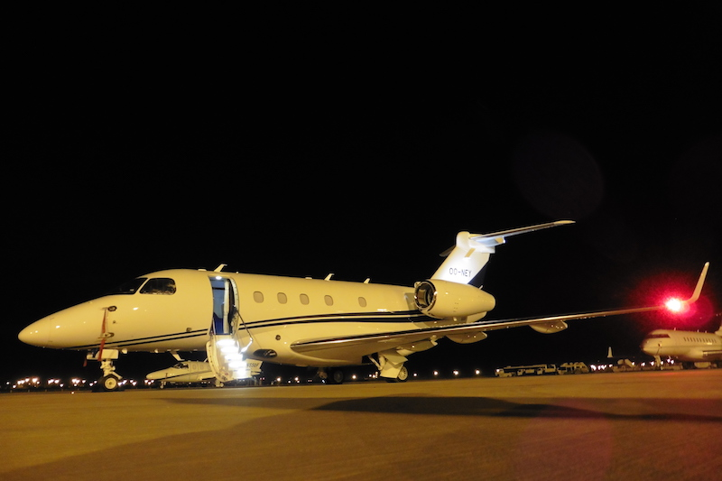 Tarmac Marrakech Embraer 450
