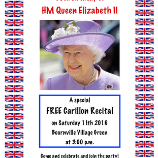 Celebrating the 90th birthday of              HM QUEEN ELIZABETH II