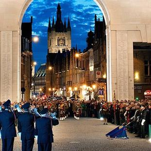 Trevor takes part in Ypres Memorial