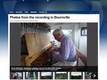 Bournville and the Carillon featured on BBC Radio 4