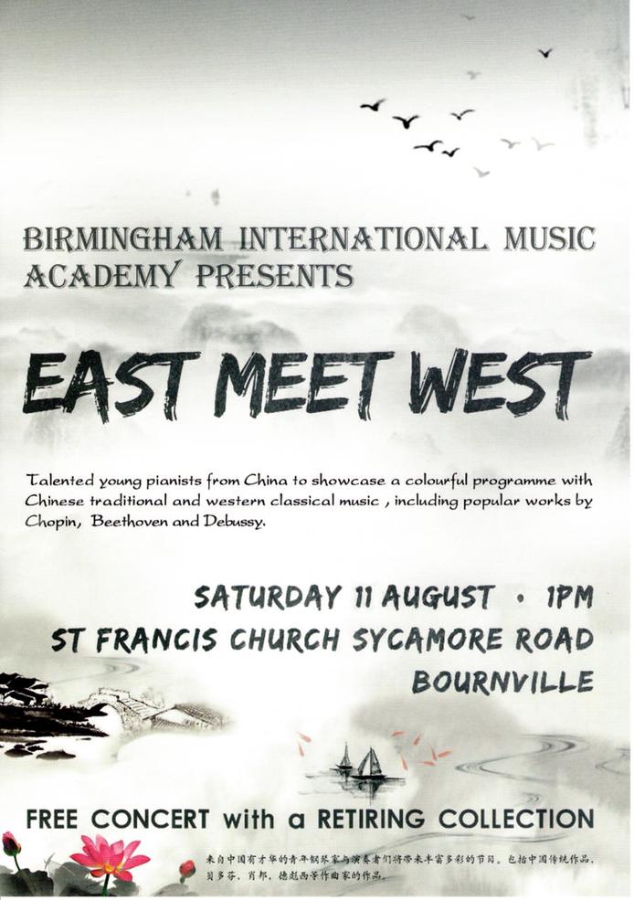FREE CONCERT:                                                  Presented by Birmingham International