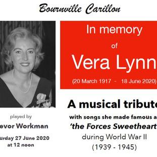 A Tribute to Dame Vera Lynn