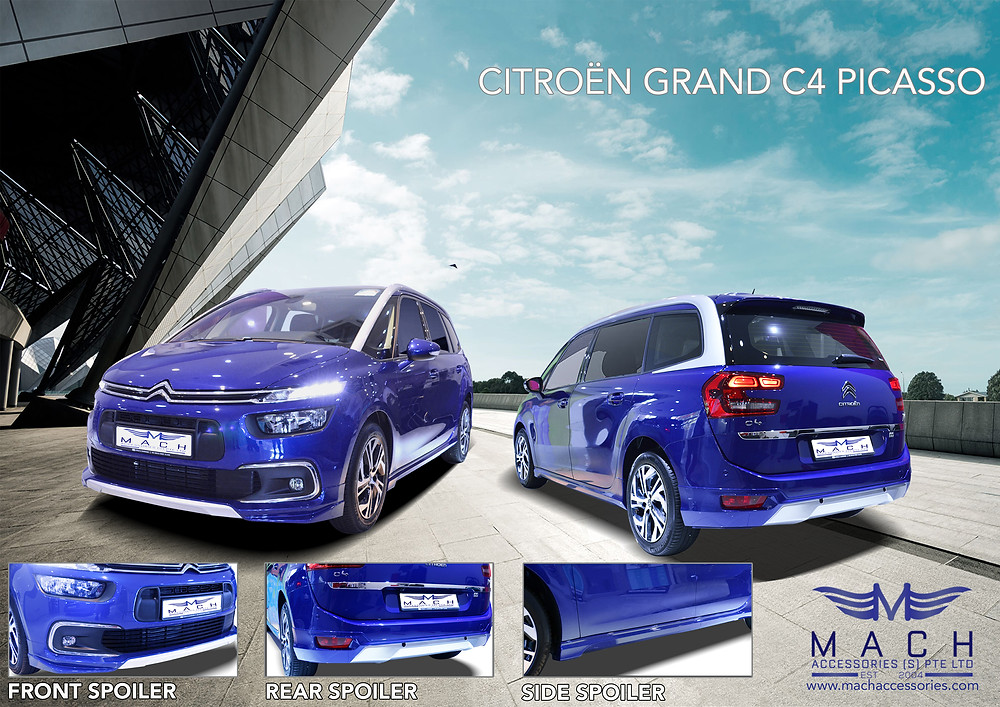 Citreon Grand C4 Picasso Body Kit 2018