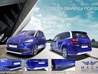 Citroen Grand C4 Picasso Body Kit 2018