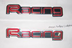 Emblem - Racing
