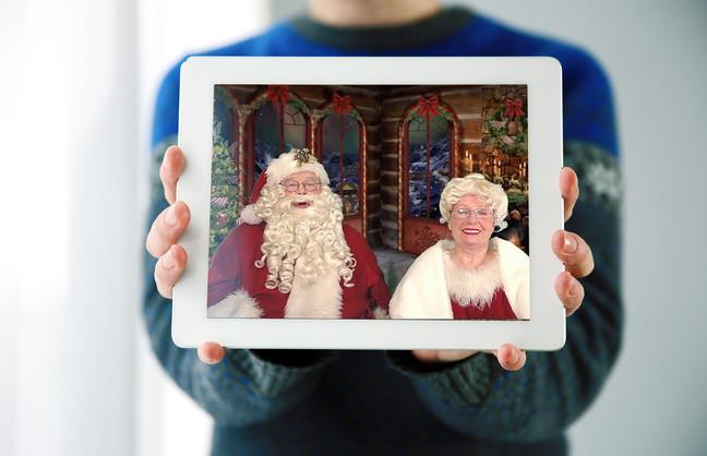 Visit with Santa Virtually This Year