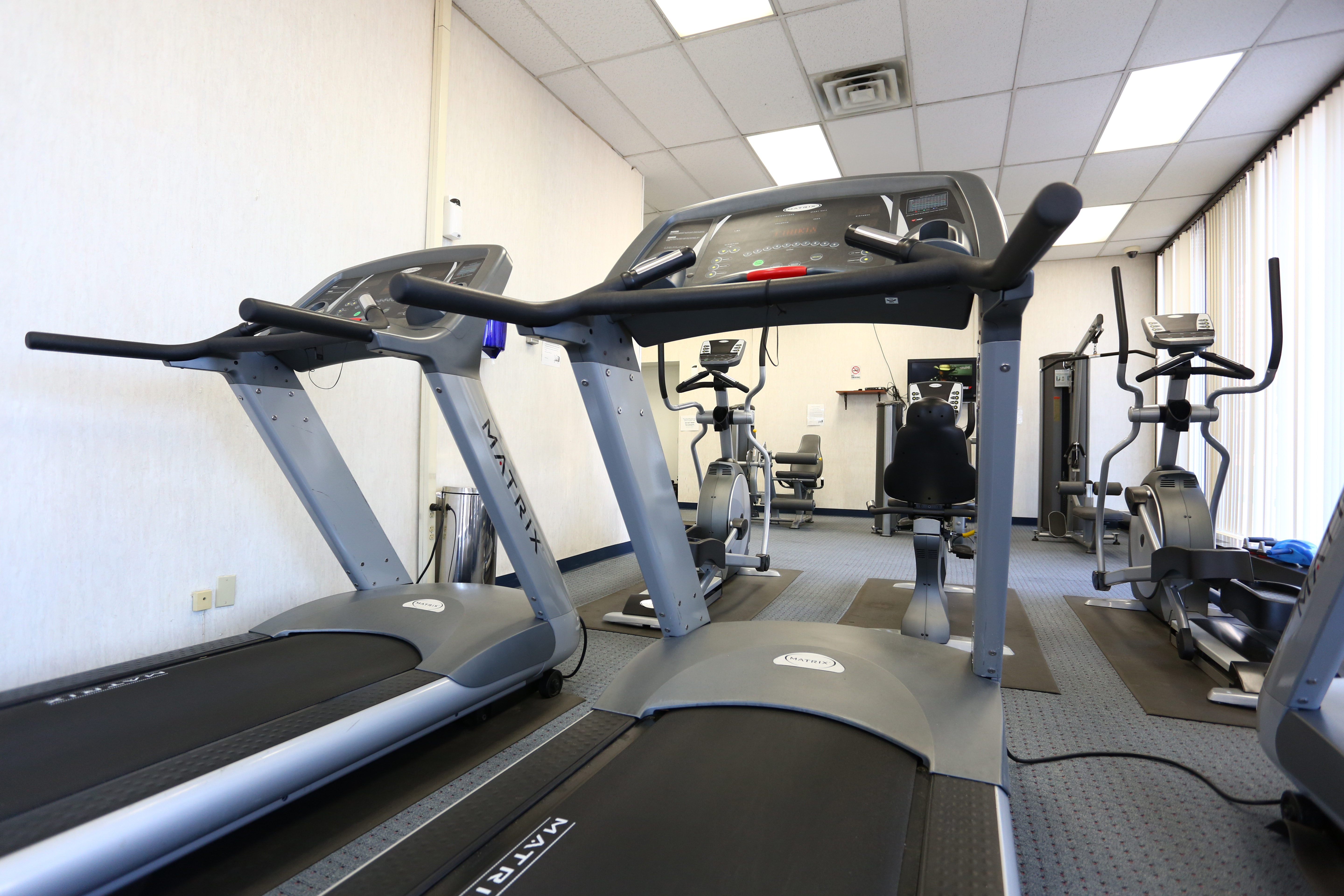 Two High-tech Fitness Centers