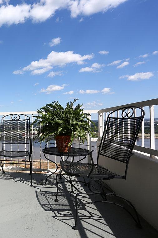 Incredible balcony views
