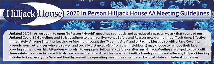 Hilljack Covid Guidelines Hybrid meeting