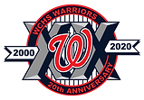 WCHS-Warriors_3-5in-20th-Anniversary-Log