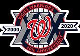 WCHS-Warriors_3-5in-20th-Anniversary-Log