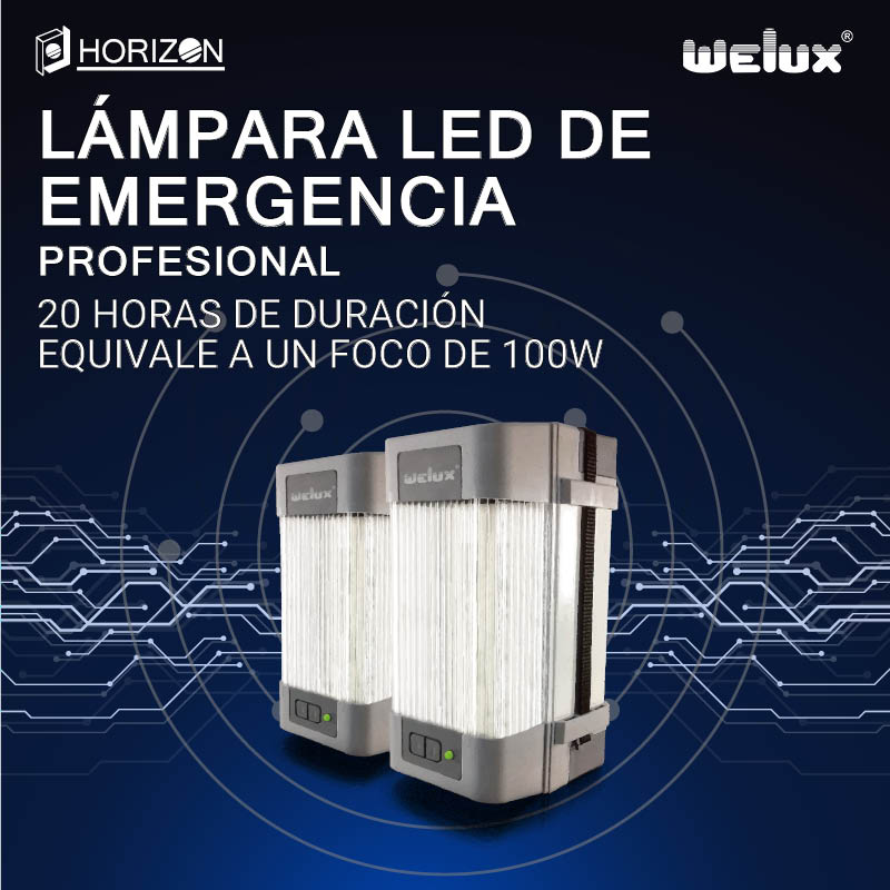 Lampara LED de Emergencia