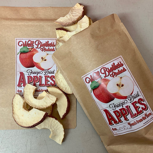 Freeze-Dried Apple Slices (8oz)