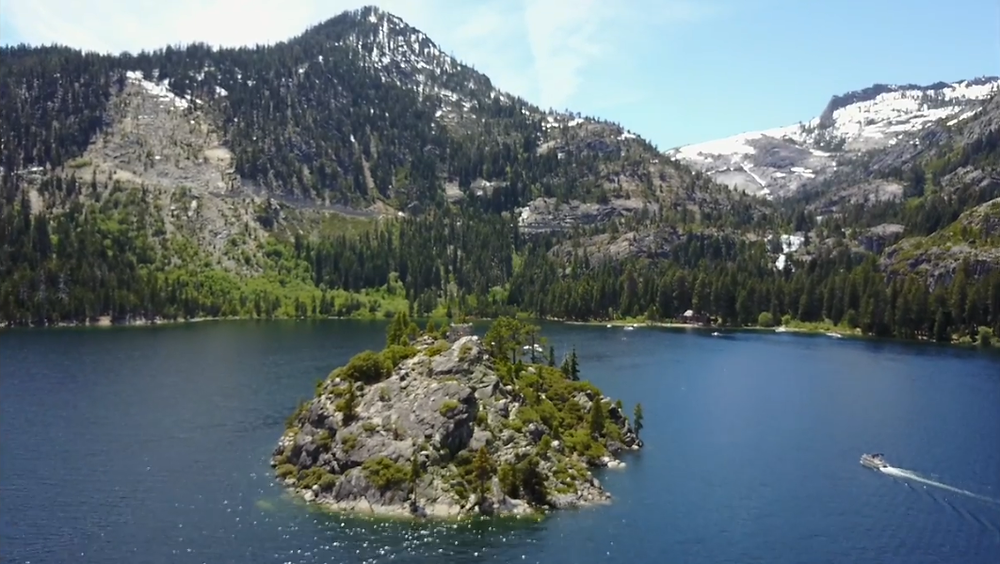 Emerald Bay and the Fannette Island