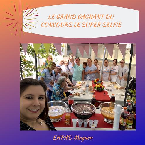 Gagnant Concours Super selfie site inter