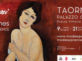 Modigliani Experience lands in Sicily (Taormina)
