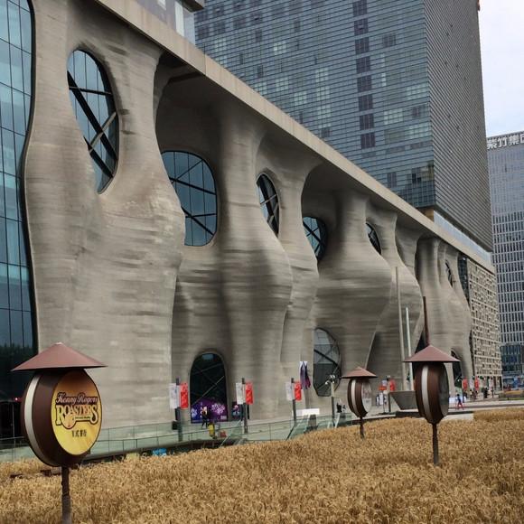 Shanghai: - New showroom at Zendai Himalayas Center