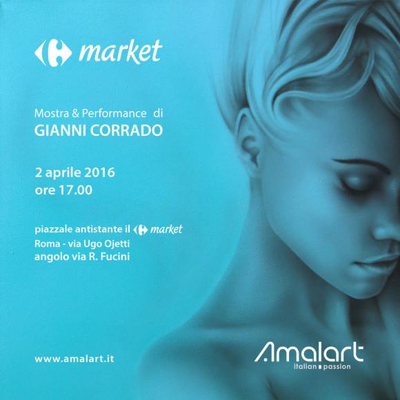 Rome - Pop-up Event of Gianni Corrado
