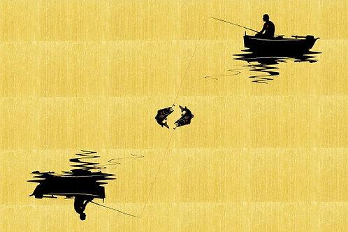 C'è un attimo in cui pescatore e pesce sono schiavi l'un dell'altro....