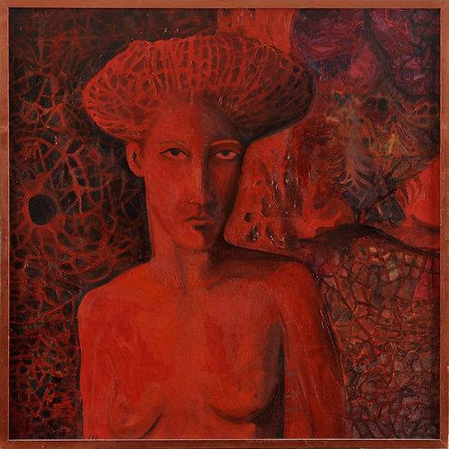 Woman Eva Vesuvian
