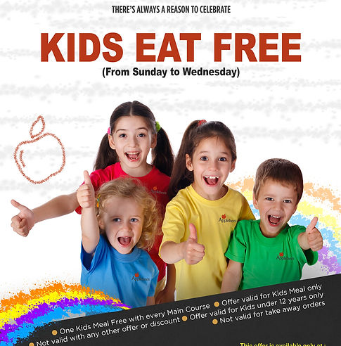Tarfeeh Launches Kids Eat Free Campaign In Applebee S