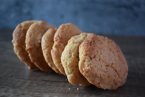White Chocolate Chunk Almond Cookies