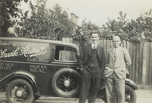 36 Haines Bakery Van, Seal, Kent.tif