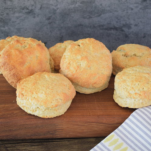 Deliciously Mourish Scones - Gluten Free Available