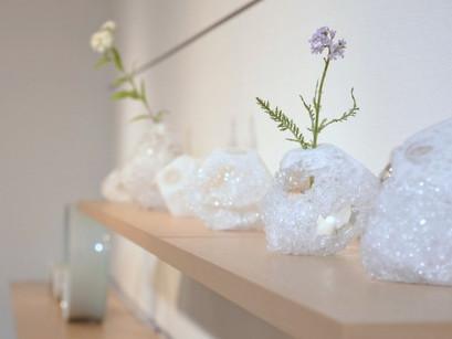 加藤千佳さんのガラス作品